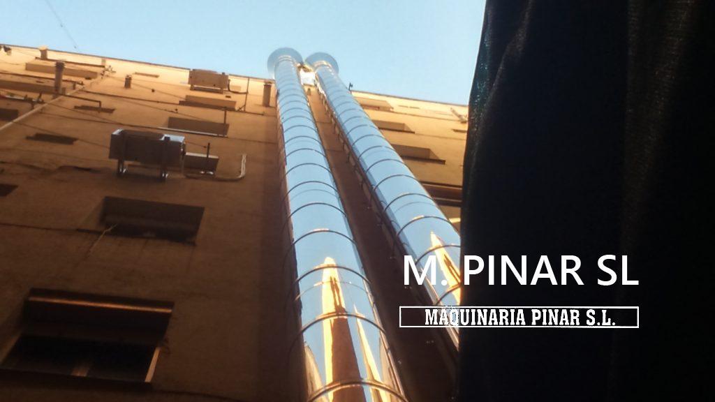 Ejecuciones especiales Extración Humos - Maquinaria Pinar SL